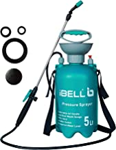 iBELL Garden and Multi-Purpose Manual Sprayer with Adjustable Nozzle, Transparent Water Level Scale (170)