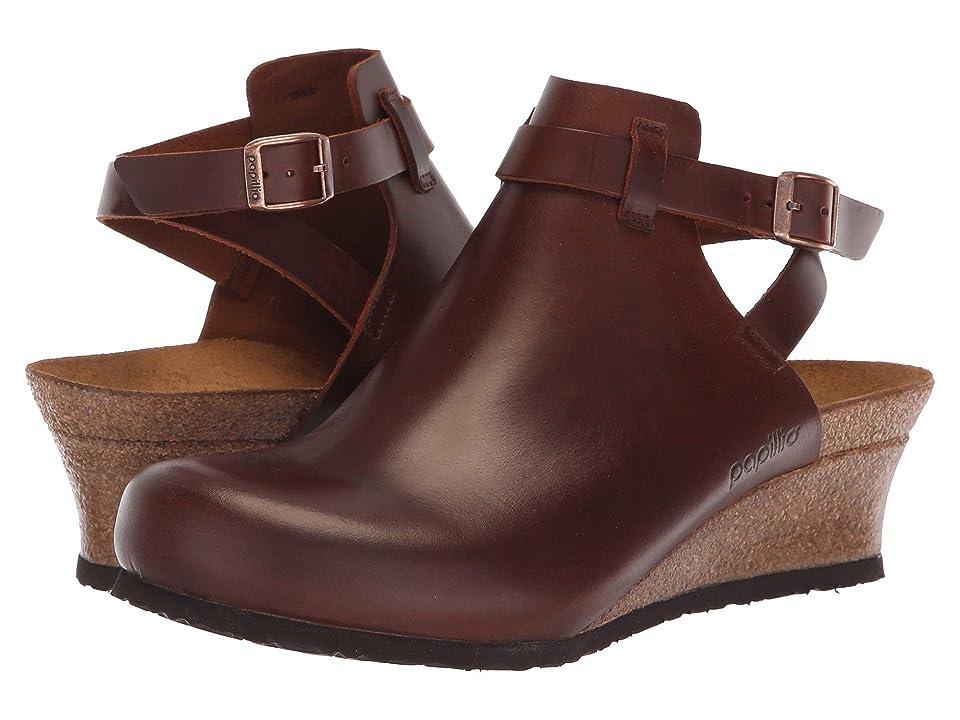 Birkenstock Esra (Cognac Leather) Women