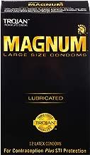 Trojan Lubricated Condom, Magnum, Large