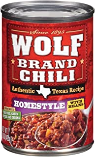 Wolf Homestyle W/Beans Chili, 15 Ounce