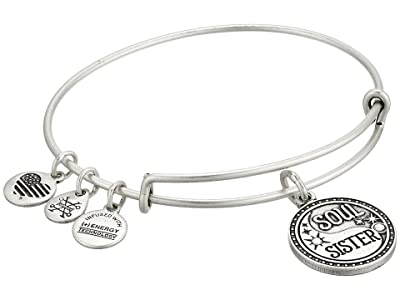 Alex and Ani Soul Sister Bangle (Rafaelian Silver) Bracelet