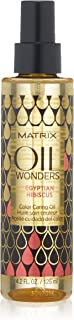 Matrix Oil Wonders Egyptian Hibiscus Color Caring Oil for Color Treated Hair, 4.2 Fl. Oz.