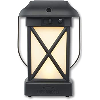 Thermacell Cambridge Mosquito Repellent Patio Shield Lantern; 15' X 15' Foot Zone of Protection Effectively Repels Mosquitoes; Functions as Lantern and/or Repellent; Ideal for the Deck, Patio or Back Yard