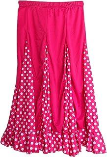 La Señorita Flamenco Rock Kinder Spanische Kleider rosa mit weißen Punkten