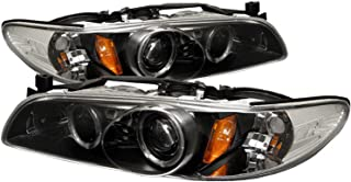Spyder Auto Pontiac Grand Prix Black Halogen Projector Headlight
