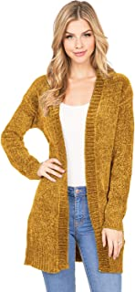 Ambiance Women's Classic Soft Chenille Knit Pullover Sweater