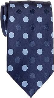 Retreez Two-Color Polka Dots Woven Microfiber Men's Tie - Various Colors