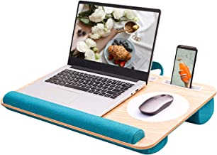 Rentliv Home Office Lap Desk - Fits up to 17 Inch Laptop Desk, Built-in Mouse Pad &Wrist Pad for Notebook, MacBook, Laptop...