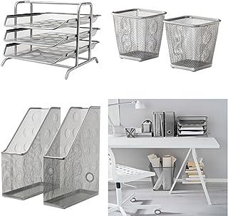 Ikea Accessori Per Ufficio.Amazon It Ikea Vaschette Portacorrispondenza Accessori