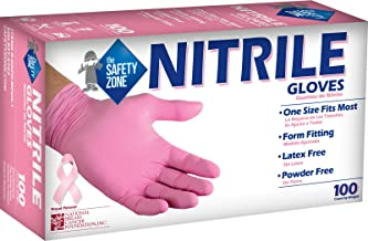 The Safety Zone R-GNPR-MPOS-1 Nitrile-Rubber, Pink (Case of 1,000)