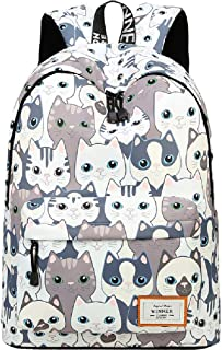SHIPE Floral Laptop Backpack Women 17 inch Durable Multi-Function School Bag