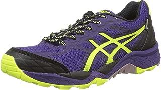 (5 UK, Parachute Purple / Safety Yellow / Black) - Asics Gel-Fujitrabuco 5 Goretex Women's Running Shoes (T6J6N)