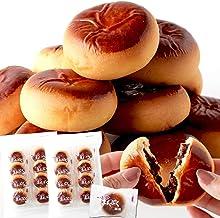 天然生活 甘さ控えめ まんぷく小倉まんじゅう16個 (8個入×2袋) 和菓子 お徳用 個包装 おやつ 饅頭 餡子 あんこ 国内製造