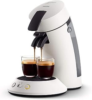 Philips CSA210/11 machine à café dosettes SENSEO Original+, Blanc givré