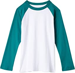 Essential Raglan Long Sleeve Shirt (Little Kids/Big Kids)