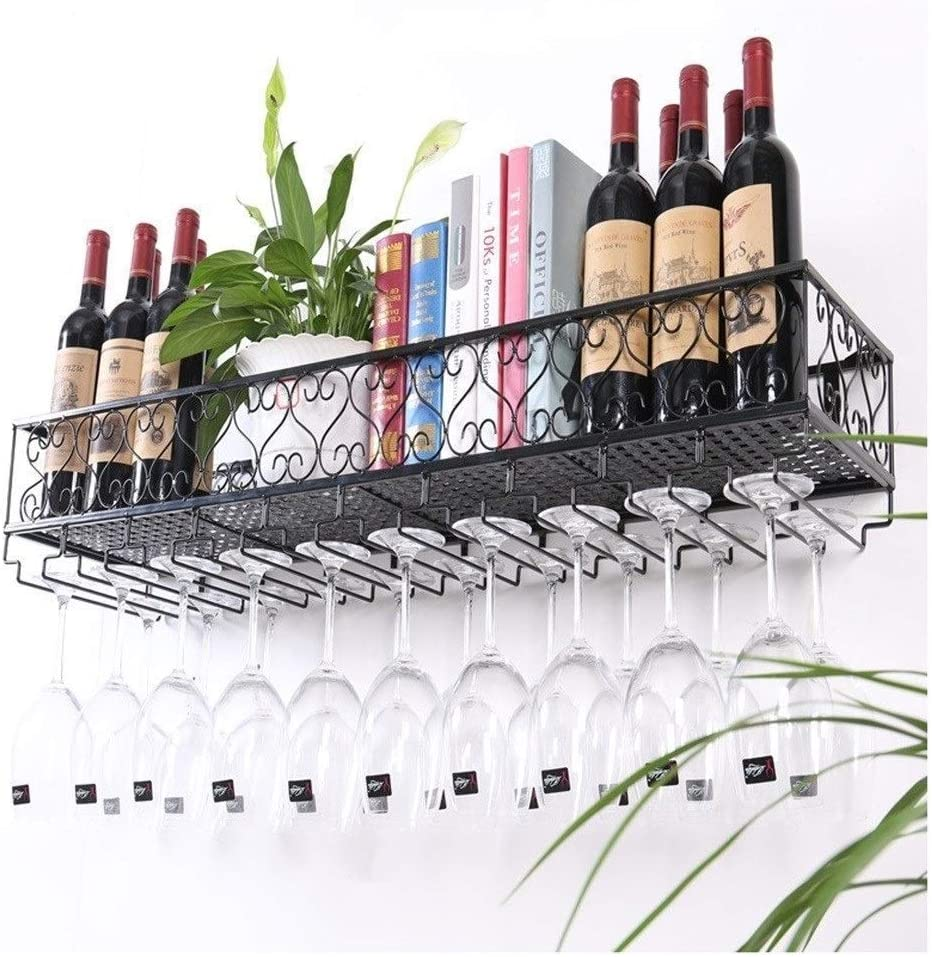 LSNLNN Weekly update Wine Racks Rack Household Wall Holder Glass Translated Ha