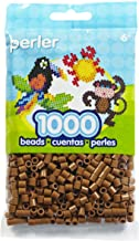 Perler Beads Fuse Beads for Crafts, 1000pcs, Light Brown