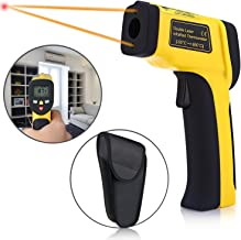 Digital Infrared Thermometer, Elegant Choise Temperature Gun Non-contact Digital Infrared IR Thermometer with LCD Backlit Adjustable Emissivity forCooking Automotive (-58?~ 1202? / -50? ~ 650?)