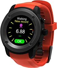 Parnerme Waterproof Fitness Tracker Wrist Based Heart Rate Monitor Activity Tracker,Blood Pressure Blood Oxygen Tracking,Pedometer Calorie Sleep Monitor Call/SMS Reminder