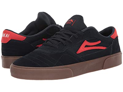 Lakai Cambridge (Navy/Flame Suede) Men