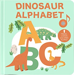 Cali's Books Dinosaur Alphabet Song Book - Interactive Dino Sound Book for Babies and Toddlers Boys and Girls Ages 1-3 and...