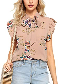 6921a159eee Amazon.com: Pinks - Blouses & Button-Down Shirts / Tops, Tees ...