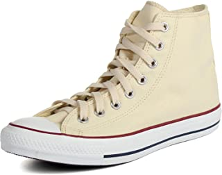 Converse Unisex All Star Hi Natural White Basketball Shoe 5 Men US / 7 Women US