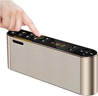 $269 » EODUDO-S New Cool Vintage Classical Bluetooth Speaker Build in Radio Mp3 Player Card Reader LCD Display for Mobile Phone C...