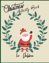 Christmas Activity for Children: Acrostic Poem Anagram Word Search Coloring