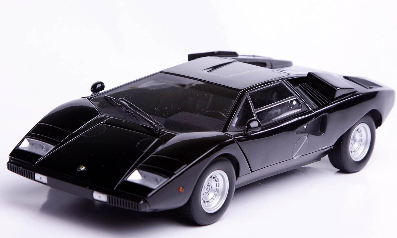 Kyosho 1. 1.8. Lamborghini Countach LP4.00 schwarz K08.3.2.1.BK B00458AU08 Erste in seiner Klasse  | Sehen Sie die Welt aus der Perspektive des Kindes
