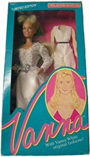 Vanna White Doll #008 Limited Edition From HSN Home Shopping Club 1990
