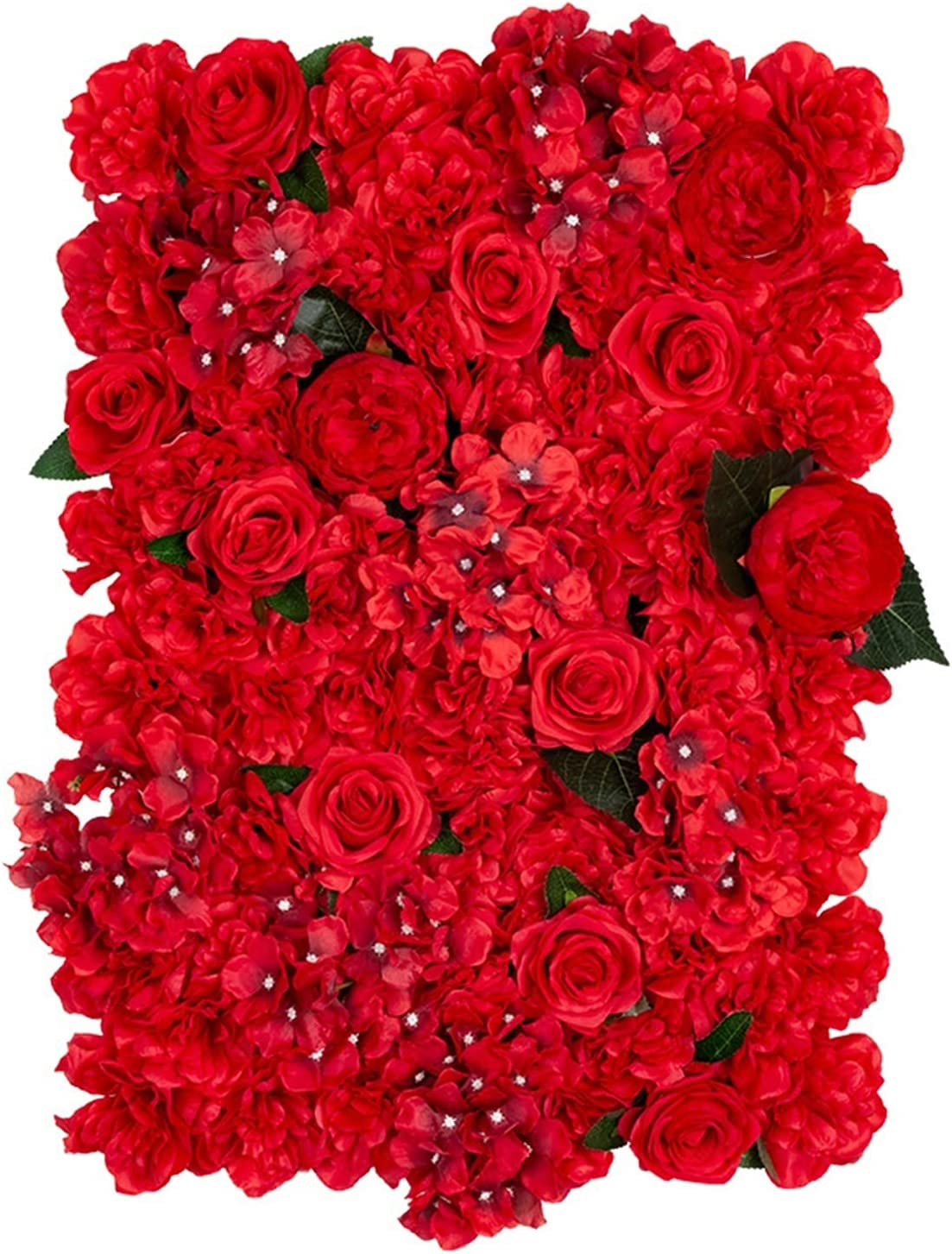 XMEIFEI PARTS Wedding Flower Wall Rose 40x60cm New Orleans Excellence Mall F Artificial Silk