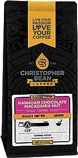 chocolate macadamia coffee beans