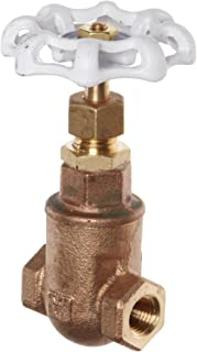 Milwaukee Valve UP105 Series Bronze Gate Valve, Potable Water Service, Non-Rising Stem, 1-1/2