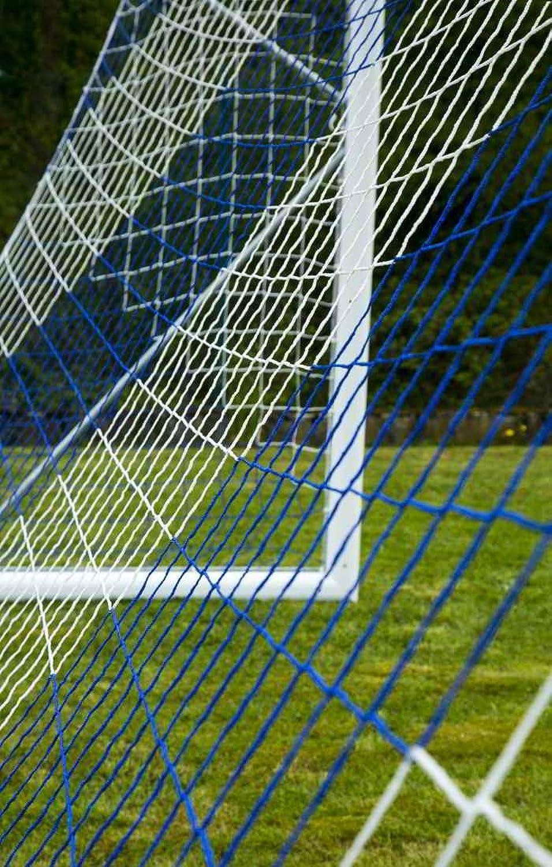 Fußballtornetz PRO, PRO, PRO, Fußball Tornetz, 7,50m x 2,50m x 0,8m x 2m - 3mm - Gestreift (wählbar) B00IYIFGDG  Moderner Modus 67655d