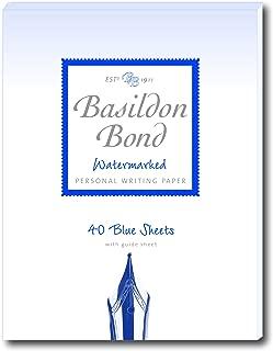 Basildon Bond Duke 137 x 178 mm Writing Pad with 40 Sheets - Blue