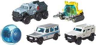 Matchbox Jurassic World coffret 5 véhicules, jouet pour enfant de petites voitures miniatures, modèle aléatoire, FMX40