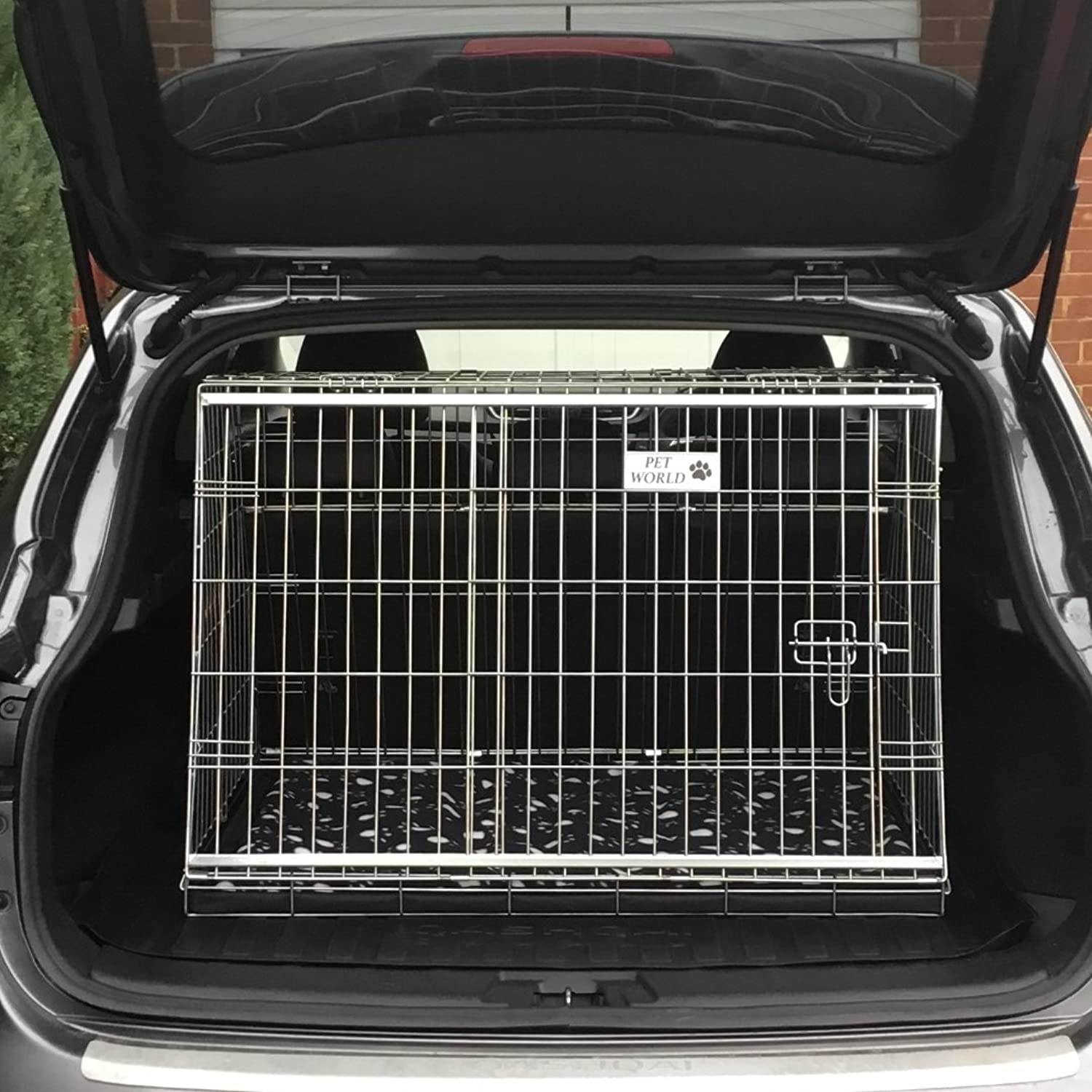Arrow NISSAN QASHQAI 0711 REG CAR DOG CAGE SLOPED FRONT GUARD PUPPY CRATE CARRIER