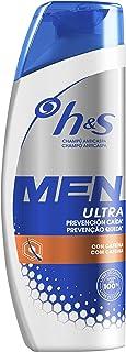 Head & Shoulders Men Ultra Prevención Caída Champú Anticaspa 300 ml Fórmula Anticaída Con Cafeína Para Un Pelo Más Fuerte