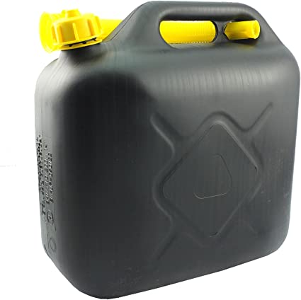 Petrol Can - In Assorted capacity Of 5L, 10L With Pouring Spout (Pack of 1, 10L): image