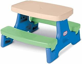 kids plastic bench