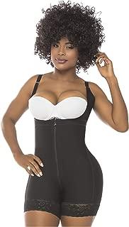 Salome 0216 Fajas Colombianas Reductoras y Moldeadoras Postparto Body Shaper for Women Black M