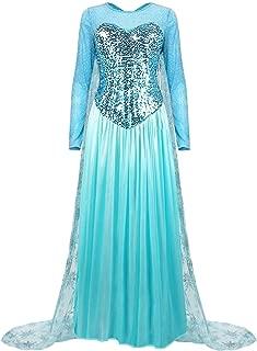 Women's Elegant Princess Dress Cosplay Costume Xmas Party Gown Fairy Fancy Dress