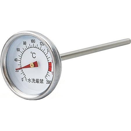 キャプテンスタッグ スモーカー用温度計 M-9499