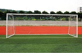 Tbest fotboll polyetylen träning post nät, fotbollsmål nät, fotboll ersättning nät standardstorlek 3 x 2,1 m/5,5 x 2,1 m/7...