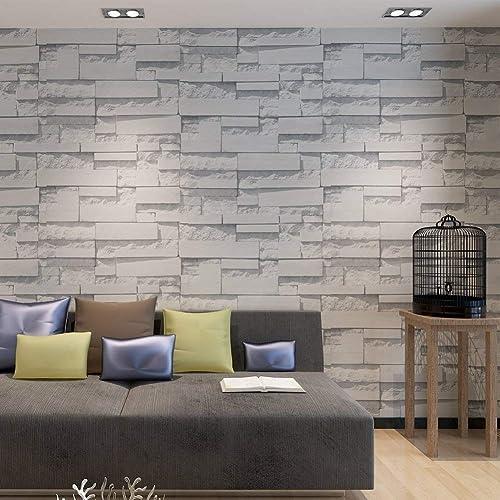 Brick Wallpaper For Bedroom: Amazon.co.uk