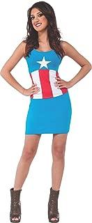Women's Marvel Universe Adult American Dream Tank Dress, Multi, Medium