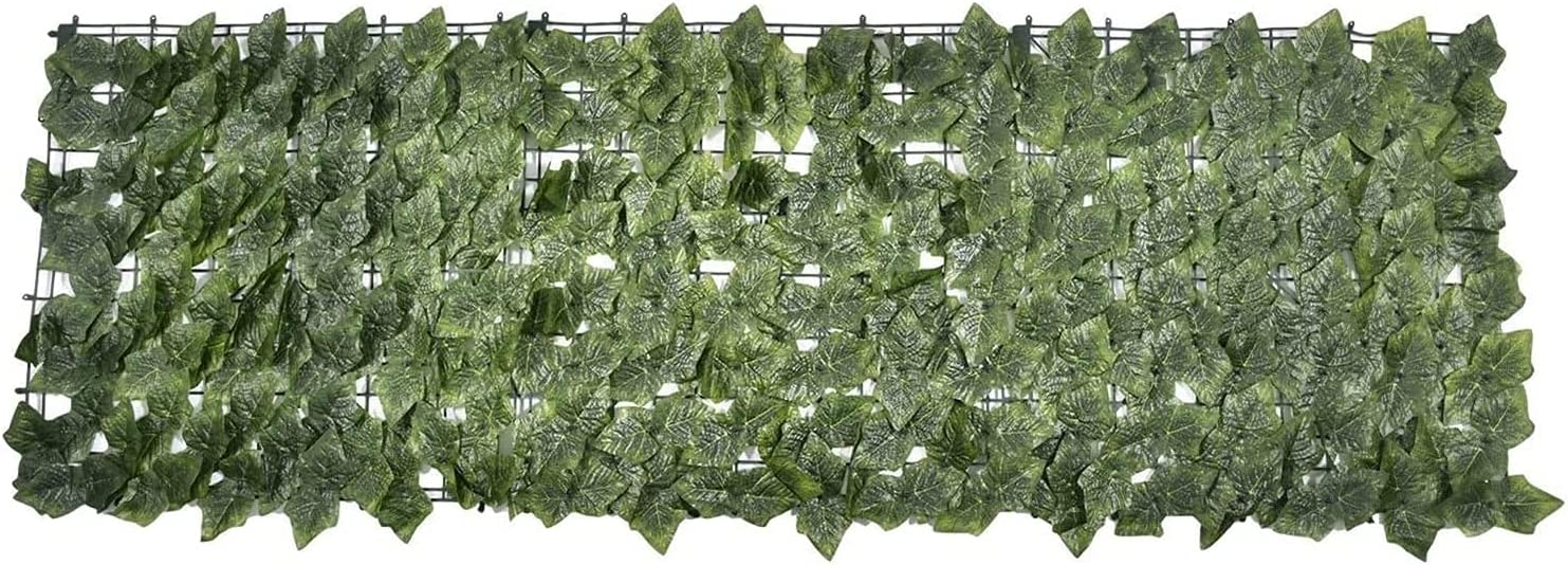 Expandable Faux Direct store Privacy Fence Regular dealer Rolls Artificial Ivy