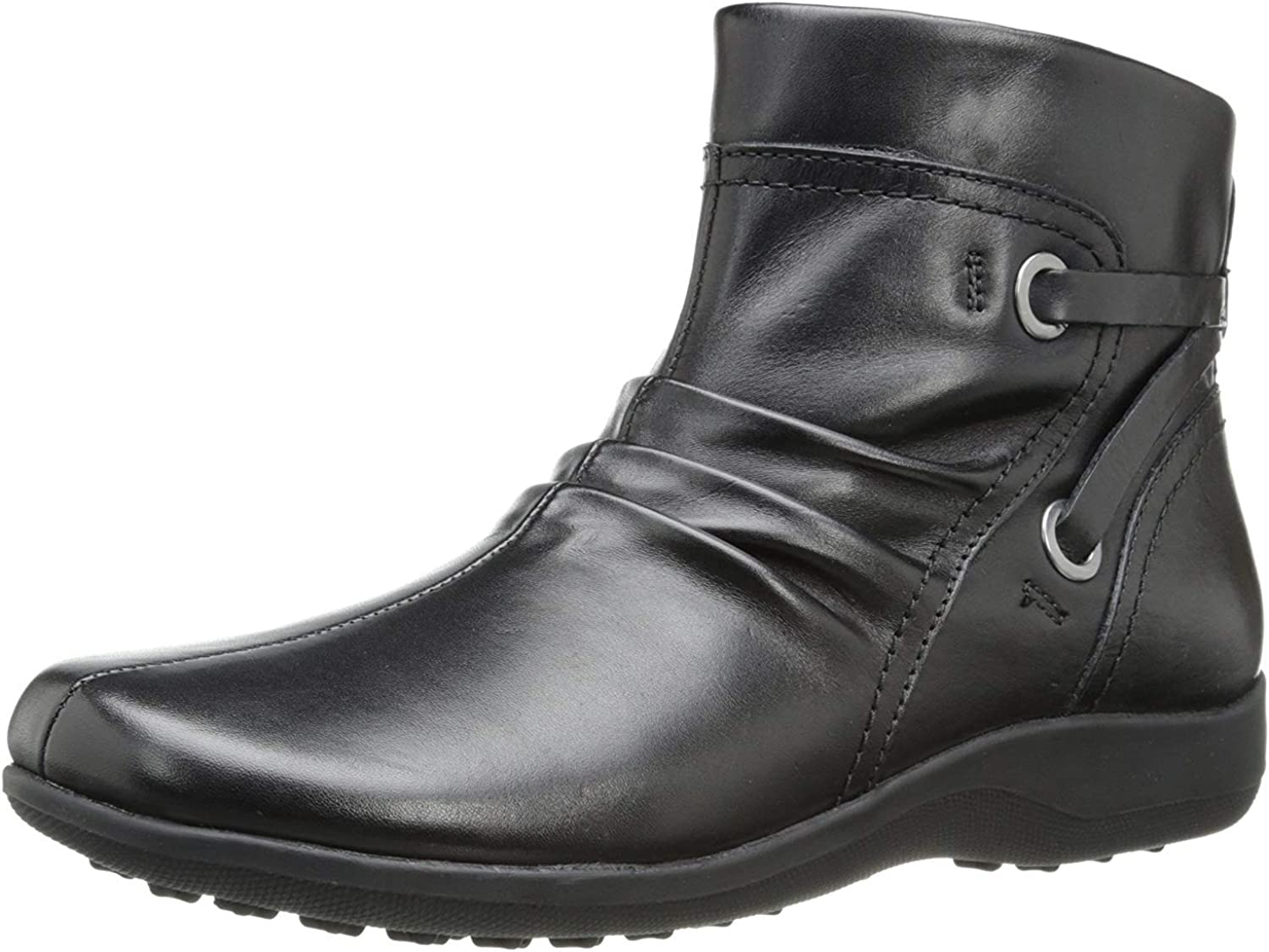 Walking Cradles Womens Zinc Leather Closed Toe Ankle Fashion Boots