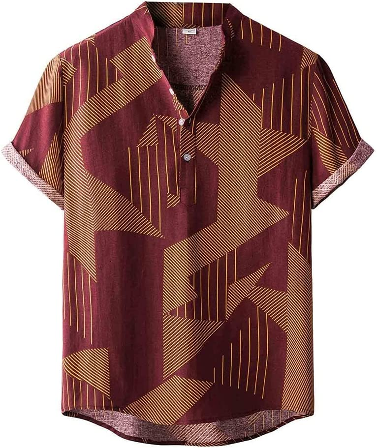 SPNEC Men Same day shipping Shirts Hawaiian Short Sleeve Button A surprise price is realized for Up
